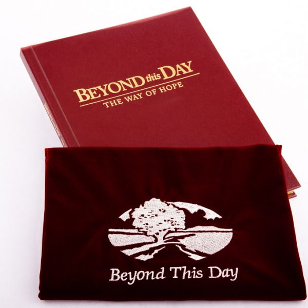 Corporate Bereavement Gift classic book and pouch