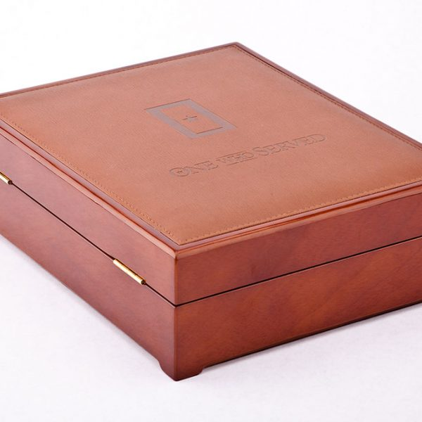 Corporate Memorial Gift Wooden Chest
